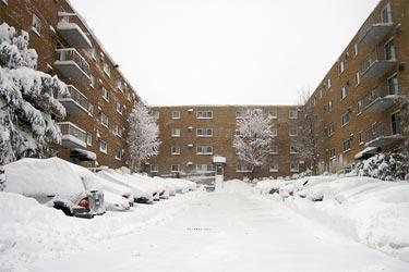Snijeg u naselju