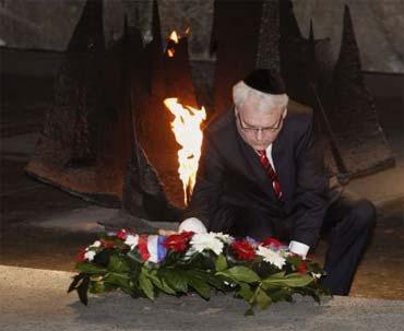 Ivo Josipović u posjeti Izraelu