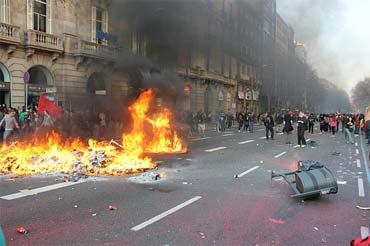 Prosvjedi u Barceloni