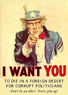 Die in a foreign desert