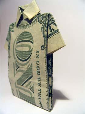 Košulja od novca