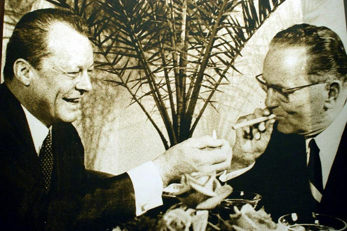 Tito i Willy Brandt
