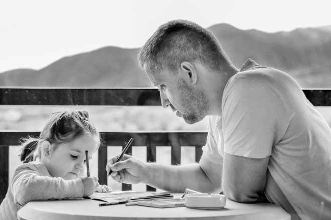 tata i kći